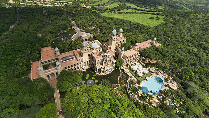 The Best Affordable Luxury Accommodation - The Palace of the Lost City