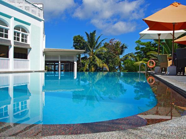 Hotel L'Archipel, swimming pool