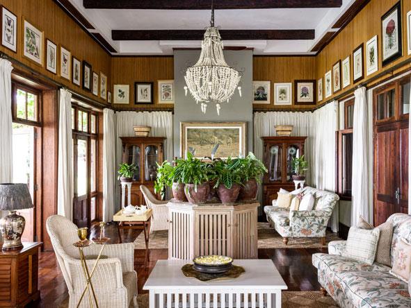Singita Sasakwa, lounge