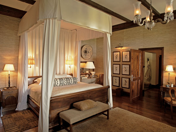bedroom suite at singita sasakwa