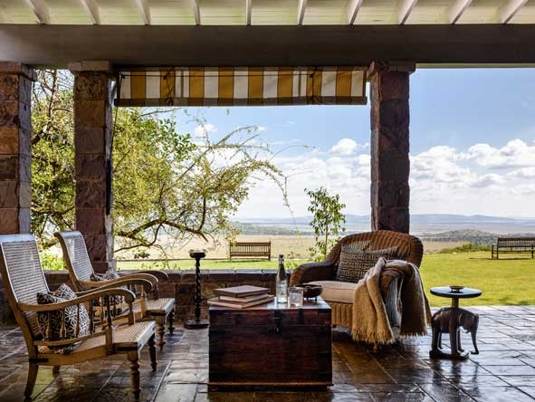 Outdoor lounge, singita sasakwa