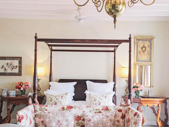 luxury suite at Kurland Polo Estate