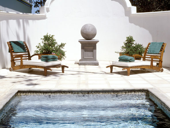 Kurland Spa, plunge pool