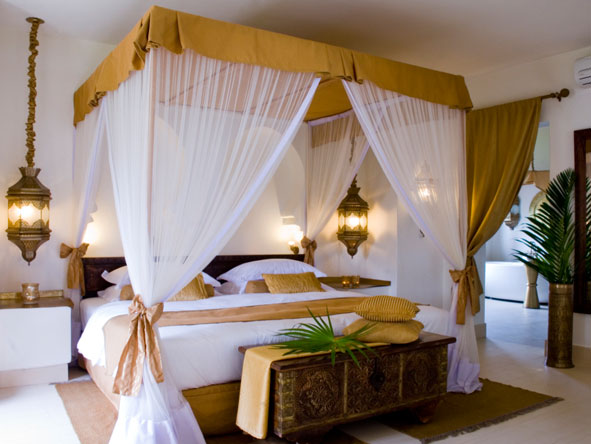 Bedroom suite at Baraza Resort and Spa