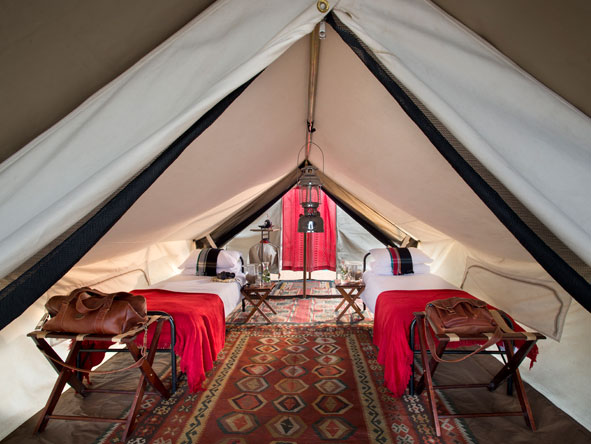 Tanda Tula, luxury tented suite