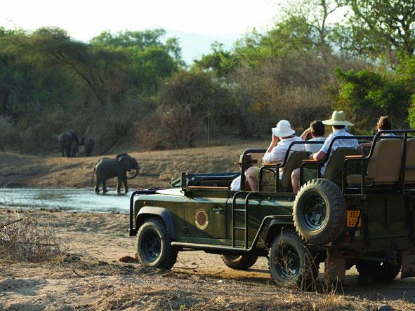 open-air safari vehicle