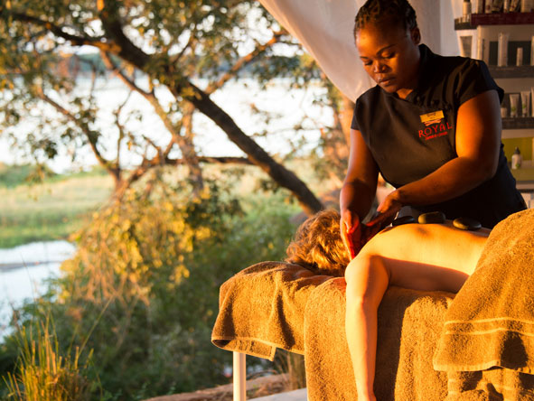 Royal Zambezi Lodge, spa