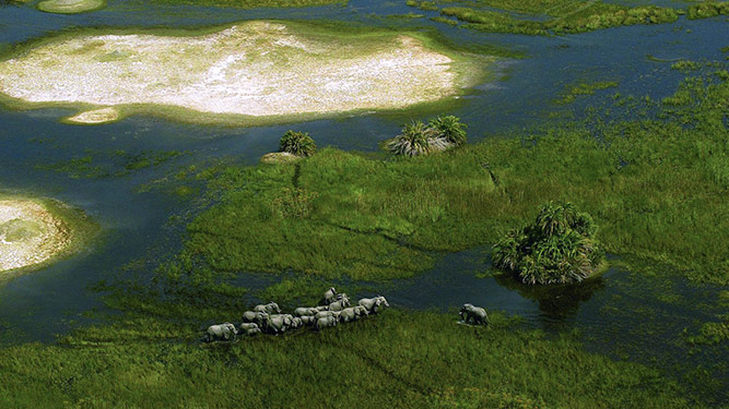 Top 10 Inspirational Places - Okavango Delta