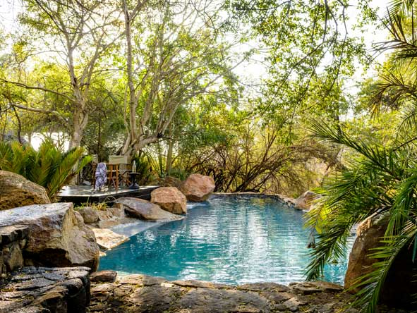 Singita Ebony Lodge, Swimming Pool
