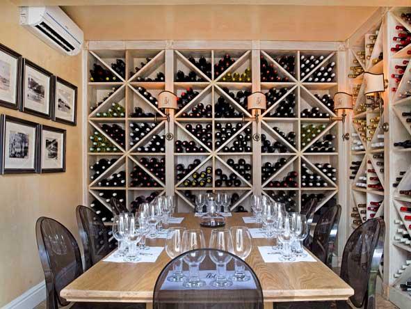 Birkenhead House Wine Cellar