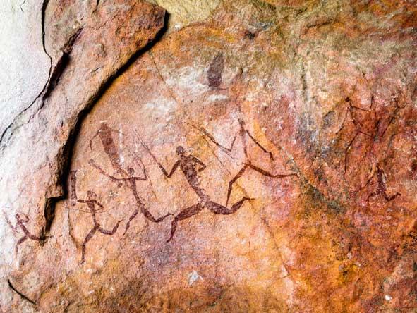 bushmen rock art, zimbabwe