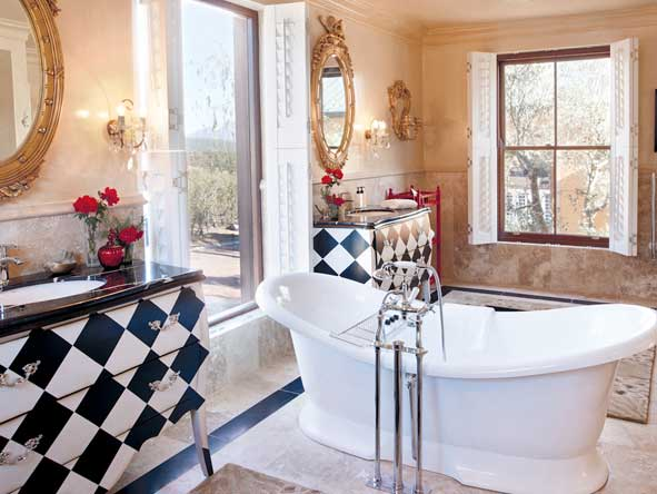 elegant en-suite bathroom