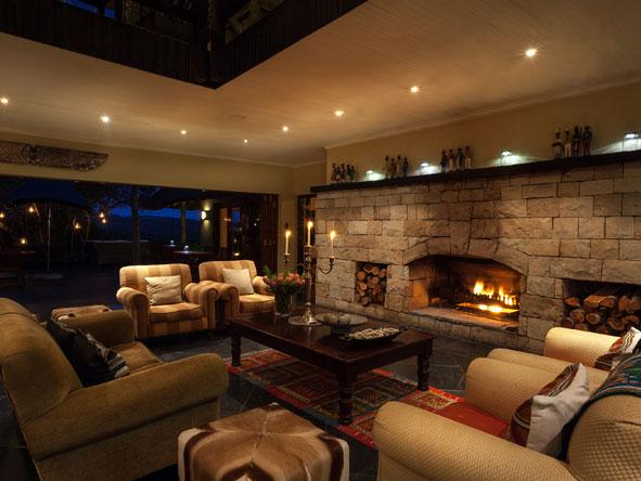 lounge at Kichaka Private Game Lodge