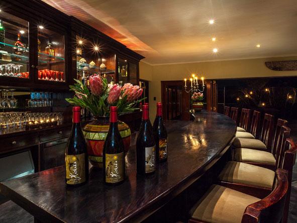 Kichaka Private Game Lodge, Bar