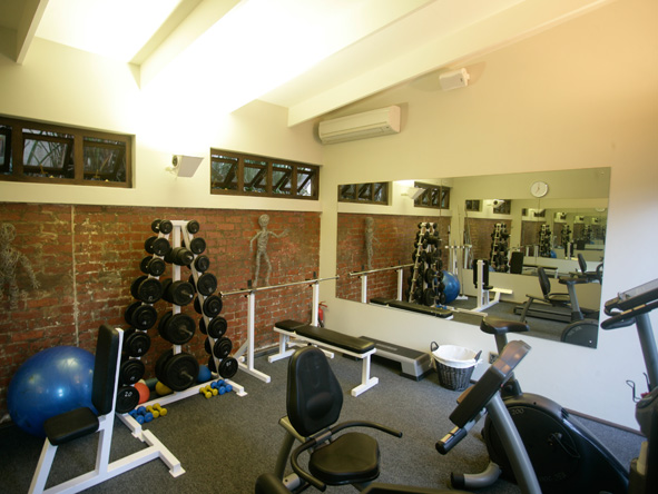 Gym at Teremok Marine