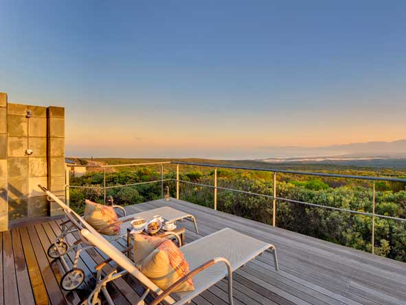 Grootbos Forest Lodge, walker bay