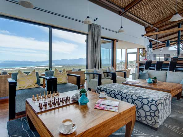 lounge at grootbos forest lodge