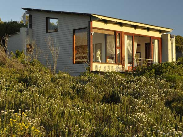 eco-friendly suites, grootbos forest lodge