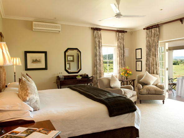 bedroom suite, River Bend Lodge