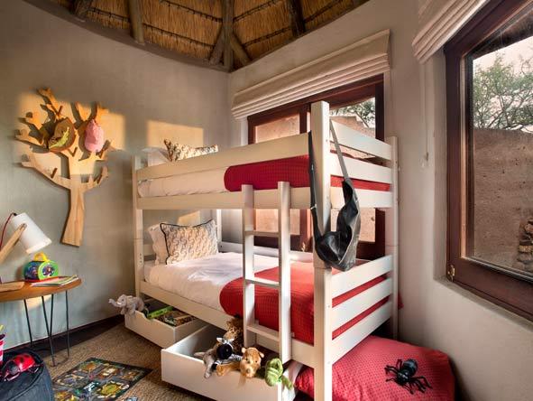 child-friendly rooms, Madikwe