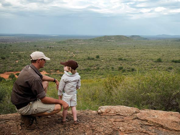 child on safari, madikwe