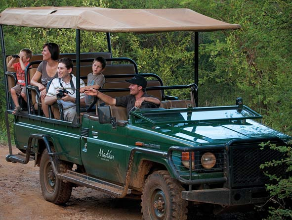 Open Air Safari vehicles, Madikwe