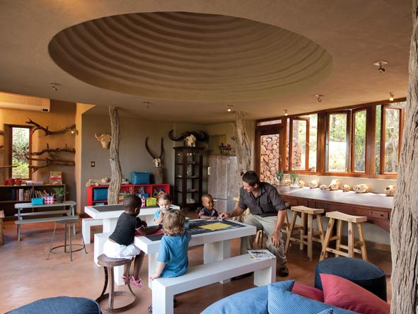 Madikwe Safari Lodge, kids club