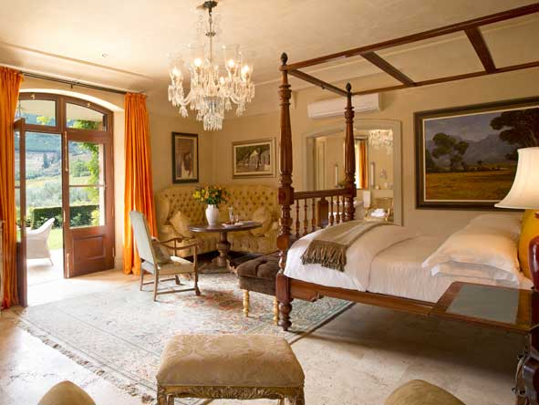 Honeysuckle Room at la residence