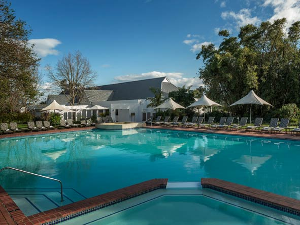 outdoor swimming pool, fancourt