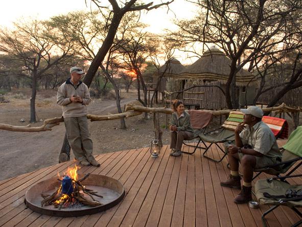 safari campfire