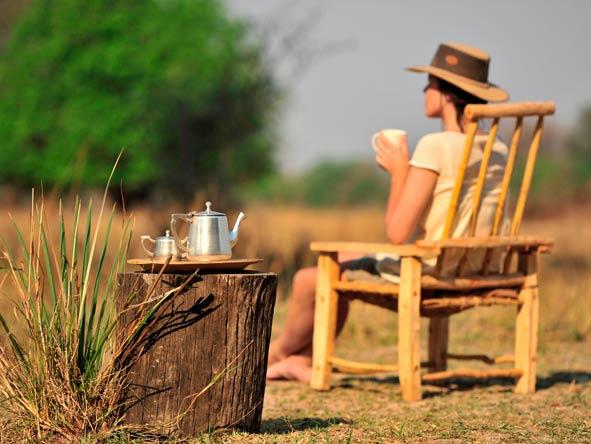 afternoon tea on safari