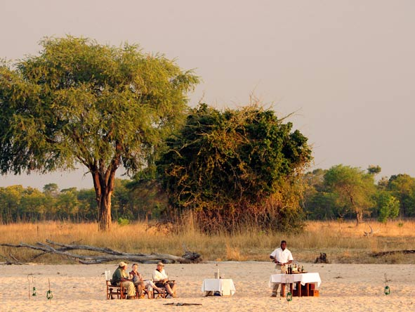 Sundowners, south luangwa