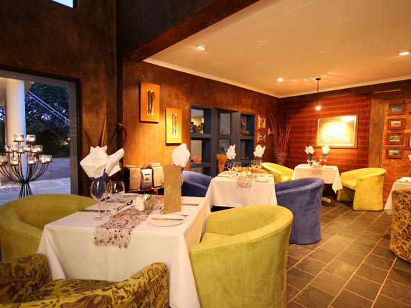 Blue Hippo Restaurant, African Rock Hotel