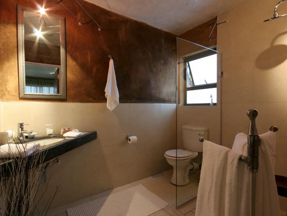en-suite bathroom, African Rock Hotel