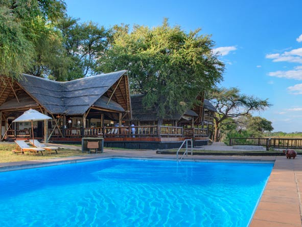 Belmond Khwai River Lodge, swimming pool