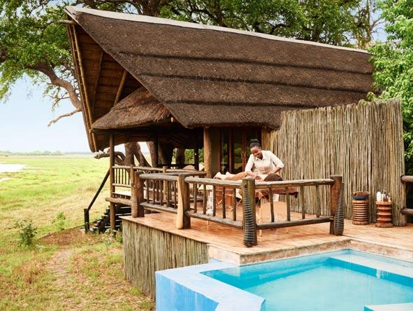Belmond Khwai River Lodge, spa