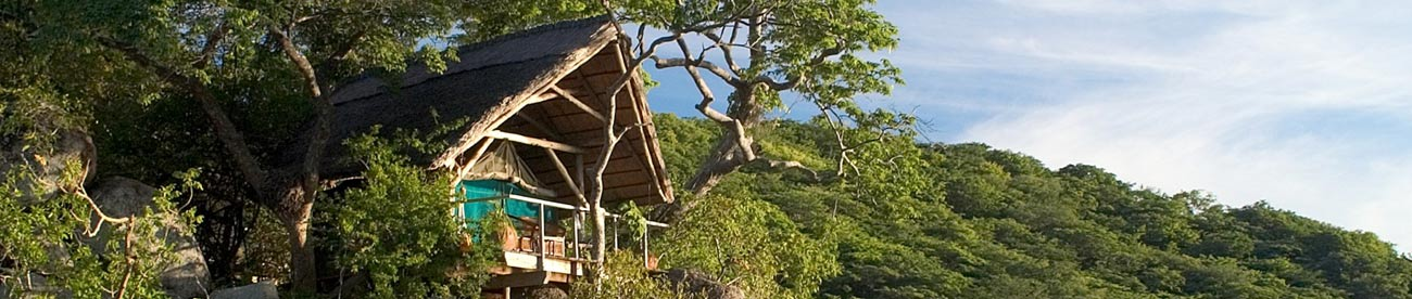 Mumbo island camp, lake malawi