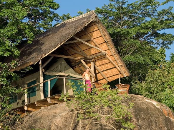 Mumbo island camp, chalet
