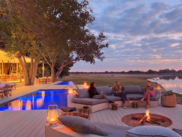 Chinzombo luxury lodge, zambia