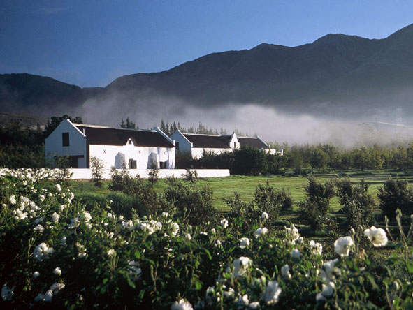 Jan Harmsgat country house, Robertson Valley