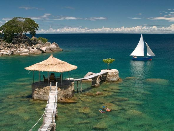 Private island, lake malawi