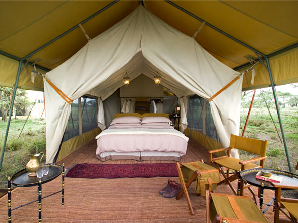 Serengeti Under Canvas, tented safari