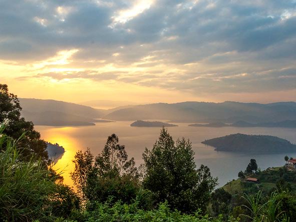 Volcanoes Virunga Lodge, Lake Bulera
