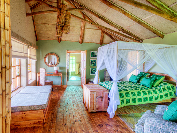 Volcanoes Virunga Lodge, Treehouse suite