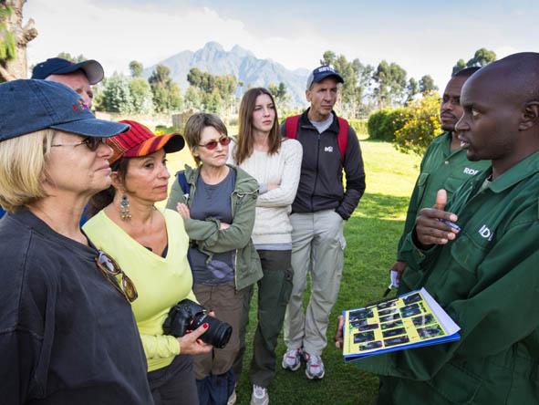 gorilla trekking guides