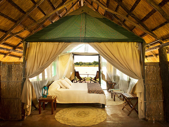 tented suites, kakuli bush camp