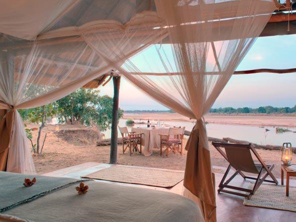 kakuli bush camp, private luxury tents