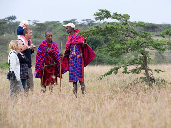 maasai guided bush walk