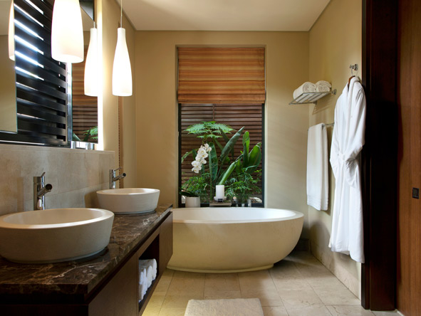Pezula resort, grande suite bathroom