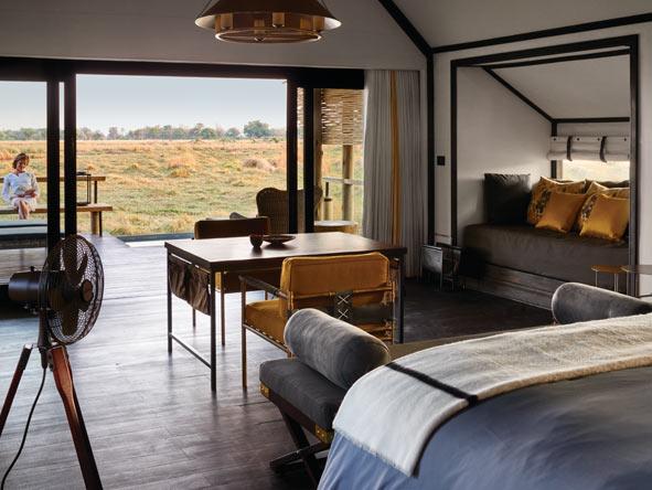 Belmond Eagle Lodge, luxury tented suite
